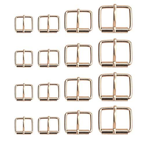 Xkfgcm 40 piezas de Hebillas de Rodillo Hebilla de Metal Hebillas de...