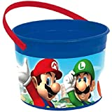 amscan Super Mario Brothers Container, Party Favor