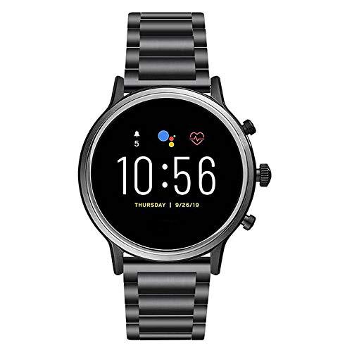 NICERIO Pulseira de relógio compatível com Fossil Gen 5 – Pulseira de aço inoxidável para reposição de relógio com pulseira ajustável para homens