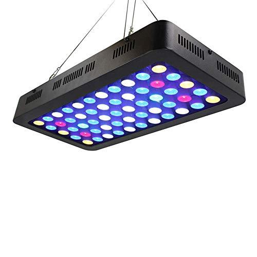 HAOHAODONG 165W luz del Acuario Regulable luz del Acuario LED Acuario Marino...