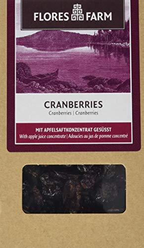 Flores Farm Cranberries, 3er Pack (3 x 100 g)