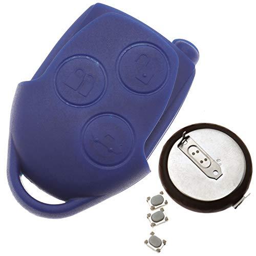 Create Idea 3 Tasten Schlüsselgehäuse Key FOB Ersatz Gehäuse mit Batterie Schlüssel Für Ford Transit mk7