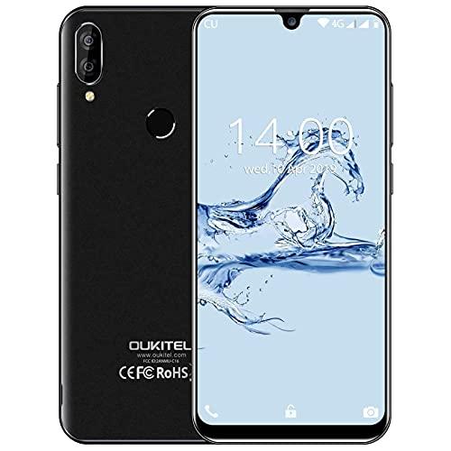 Smartphone Offerta del Giorno OUKITEL C16 Pro 5,71 Pollici Waterdrop 3GB RAM + 32GB ROM Cellulare in Offerte 4G Dual SIM Economici Telefoni Mobile, Android 9.0 128GB Espandibili - Nero