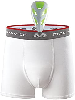 Mcdavid Youth Brief w/ Athletic Cup, Boys Cup Underwear with Cup, Includes Baseball Cup Youth & Peewee