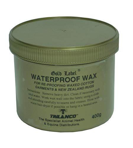 Gold Label Wasserdicht Wax-400 Gm, Clear, Unisex