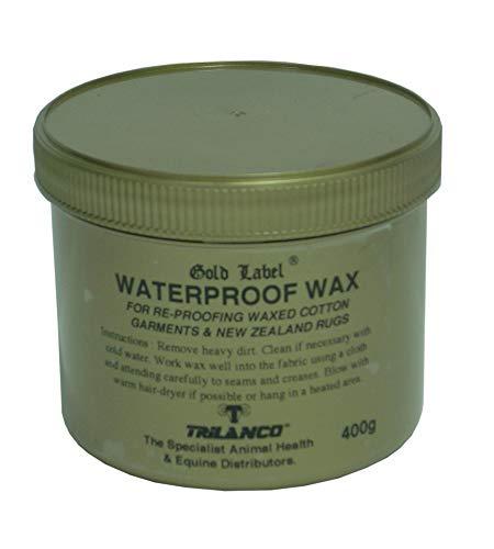 Gold Label Wasserdicht Wax-400 Gm, Clear, Unisex
