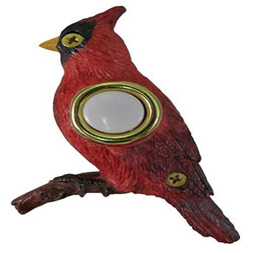 Waterwood Handpainted Cardinal Doorbell