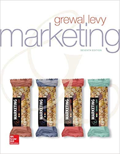 Compare Textbook Prices for Marketing 7 Edition ISBN 9781260597493 by Grewal, Dhruv,Levy, Michael