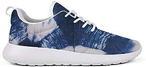 WZLAN Trippy Tie Dye Art Women's Road Running Shoes Loafers Non-Slip Workout Athletic Sneaker
