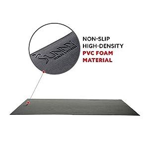Sunny Health & Fitness Foam Fitness Equipment Floor Mat - NO. 083