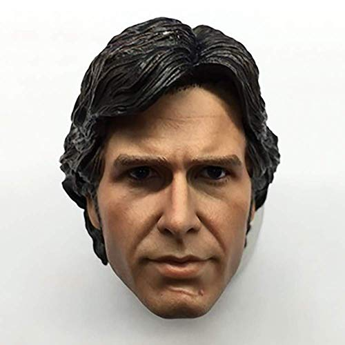 NEDTO 1/6 Scale Male Figure Head Sculpt, Handsome Men Tough Guy, Young European and American Male Head Sculpt Suitable for Muscular 12