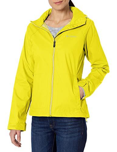 Columbia Women's Switchback III Waterproof Rain Jacket, Buttercup, X-Small
