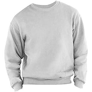 Customer reviews Fruit of the Loom Men's 62-202-0 Sweatshirt, Heather Grey, X-Large:Hashflur