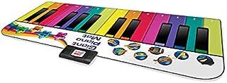 RAINBOW COLOURS 踏んで遊ぼう♪ ピアノ・ダンスマット 24鍵盤 デモソング 10曲収録 8種類 楽器音 再生 録音機能 スピーカー搭載 折り畳み カラフル プレゼント おもちゃ 知育玩具【正規輸入品】