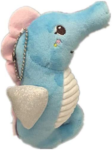OELPAN Spielzeug Pferd Meer Große 14cm Teddy Stuffer Keychain Wedding Bouquet Toy Bouquet Puppe (Farbe: blau) (Color : Azul)