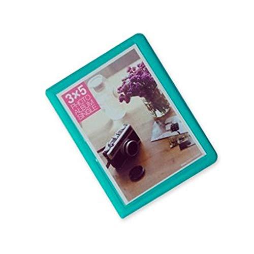 Jinshen Álbum de fotos con 32 bolsillos de 5 pulgadas, para Fujifilm Instax Wide 300, ancho 210, ancho 200 películas, color verde