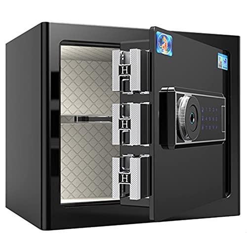Caja de seguridad, caja fuerte de pared, dispositivo de alarma inteligente, gran espacio, para oficina en casa y hotel/A / 42cm×32cm×35cm
