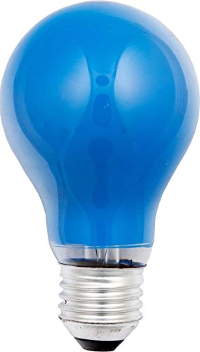 Scharnberger + Hasenbein SCHR 40243 - Bombilla (15 W, E27, 230 V, 15 W), color azul