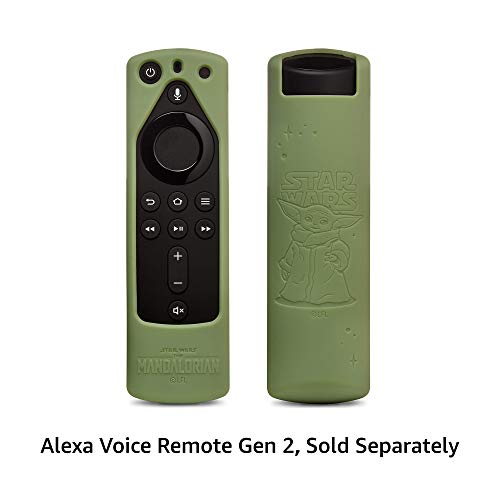 Star Wars The Mandalorian Remote Cover, for Fire TV Alexa Voice Remote Gen 2 (Grogu Green)