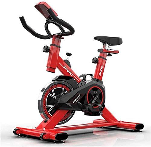 Rode Ultrastille Sport Hometrainers en Buiktrainers Indoor Bikes Stationaire Fietsen Hometrainers met Verstelbaar Stuur en Stoelen dsfhsfd(Upgrade)