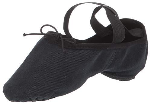 Bloch Dance Womens Zenith Ballet Flat, Black, 4.5 D US