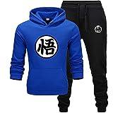 GIRLXV Sudadera Pullover de Manga Larga Gorra de Hip Hop Camiseta Deportiva de Fitness Tallas Grandes Peso Pesado XL