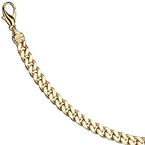 JOBO Panzerarmband 585 Gold Gelbgold massiv 19 cm Armband