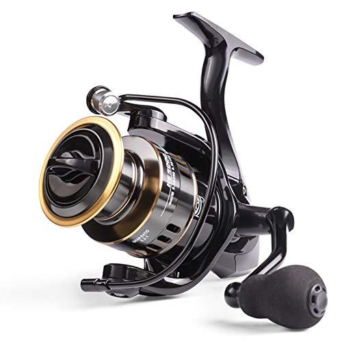 Riiai Fishing Reel, Spinning Reel HE1000 Max Drag 10kg Reel Fishing 5.2:1...