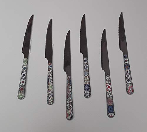 Emporio Zani - Juego de cuchillos para carne de cerdo de...