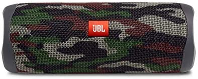 JBL Flip 5 Portable Bluetooth Speaker - Ocean Blue (JBLFLIP5BLUAM) (Renewed)