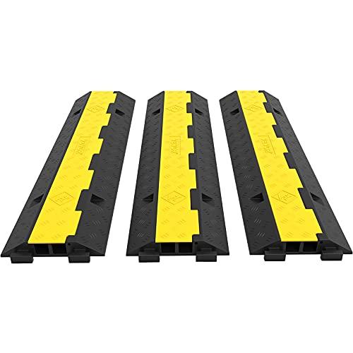 Happybuy 3 Pack of 2 11000lbs per Axle Capacity Protective...