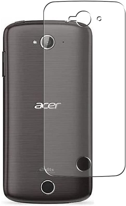 Puccy 2 Pack Back Screen Protector Film, compatible with Acer Liquid Z330 M330 TPU Guard Cover ( Not Tempered Glass/Not Front Screen Protectors)