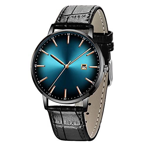 MAID Guapo Reloj de Hombre Elegante Brillante, Relojes Casuales para Hombre Marca de Lujo Reloj de Oro Reloj Deportivo Reloj de Pulsera Impermeable Reloj de Cuarzo para Hombres Reloj de Negocios