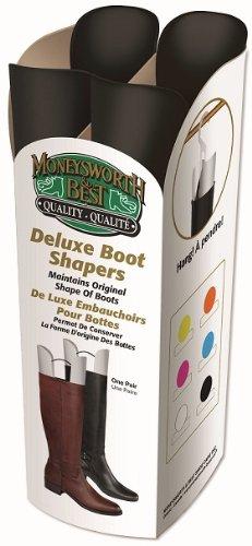 moneysworth & Best Deluxe Boot Shaper, Negro, Cualquier tamaño