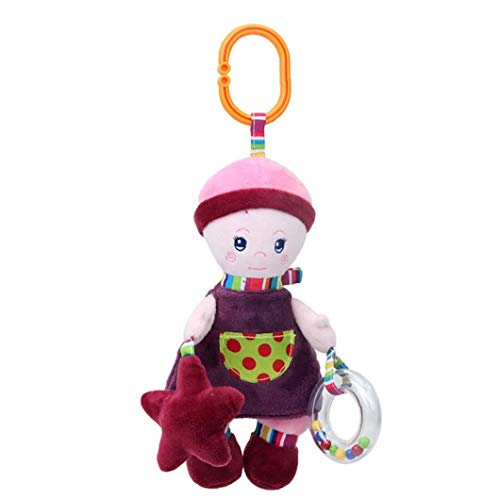 YZLSM Baby Girl Doll Cadeau en Peluche bébé Jouet Hanging Snuggle Amis Soft Play Toy 1pc
