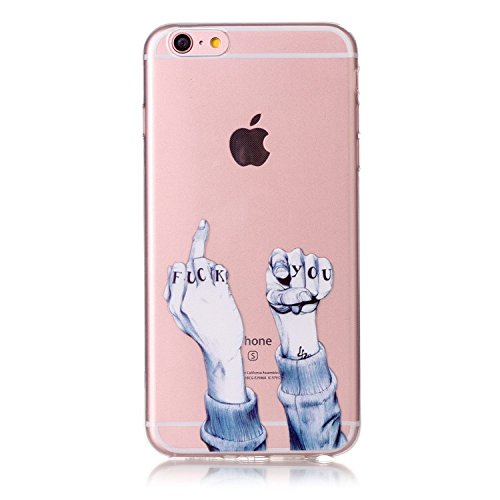 Ultra Dünn Slim Anti-Rutsch Flexible Handyhülle 3D Flower Animal Cartoon Kreative Soft Licht Gel Gomma TPU Silikon Schutz Handy Hülle Case Tasche Etui Bumper für Apple iPhone 6S/6 Plus 5.5