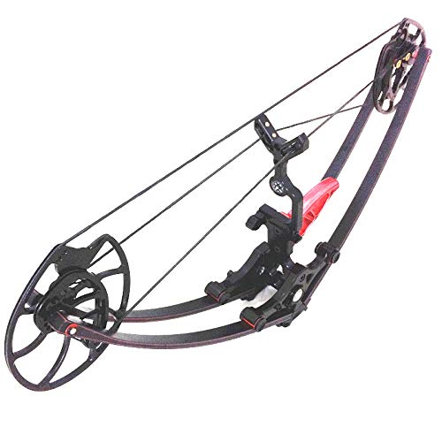 WILLIAM TELL ARCHERY 40-60 lbs 21' Axle to Axle Survival Mini Bow,320 FPS The Smallest Bow in The Market!!