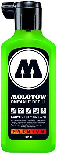 Molotow mo692222Refill one4all, recarga para marcador permanente 180ml, 1pieza, cacao 77