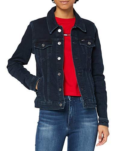 Tommy Jeans Regular Trucker Jacket OLBBCF Chaqueta, Oslo Azul BK Com, S para Mujer