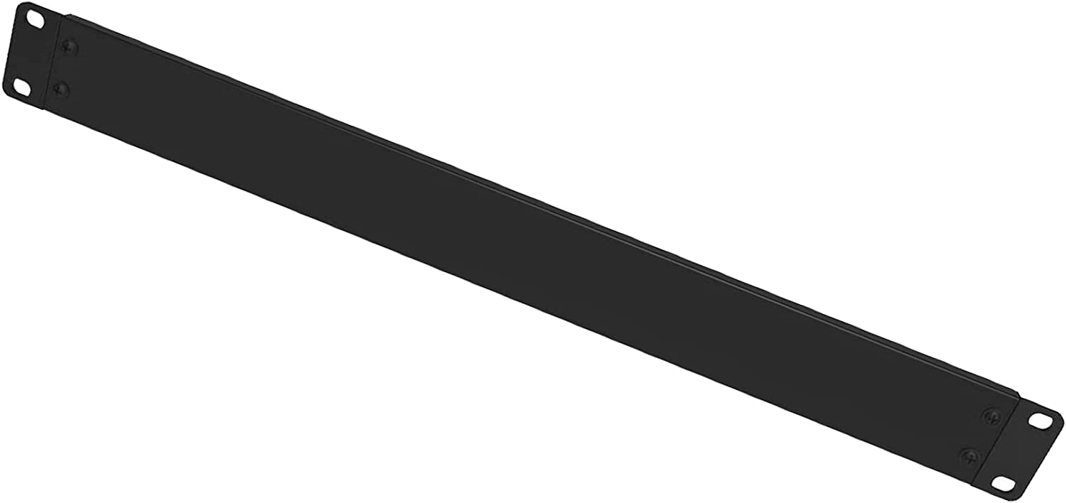CesiuNet 1U Metal Removable Blank Panel 1U Rack Mounting Gaskets for 19 inch Server Rack Chassis or Network Cabinet.