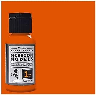 Mission Models Premium Hobby Paints - Orange (1oz bottle)