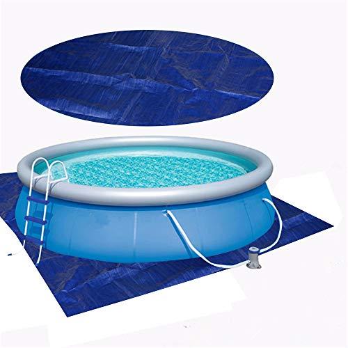 YZG LIFE Solarplane Pool Poolabdeckung Und Pool Ground Cloth, Staubdichte Pool Cover Solarabdeckplane Regensichere Gegen UV-Strahlung Pool Schutz Abdeckung Für Alle Arten Von Pool (1,85 * 2,85m)