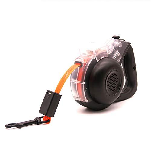 Einziehbare Hundeleine, USB, elektrisch, ergonomisches Design, langlebiger, komfortabler Griff, kein Verheddern, wiederaufladbar über USB