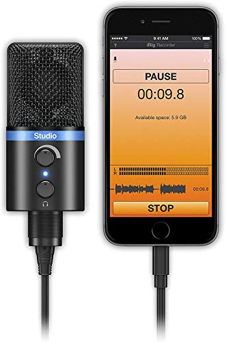 IK Multimedia iRig Mic Studio - Black