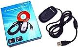 Tenflyer Alta Calidad Negro USB Receptor PC Wireless para Juegos de Control de Juegos para XBOX 360 Con CD con los controladores