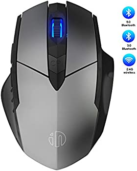 Inphic Rechargeable Ergonomic Optical Bluetooth Mouse