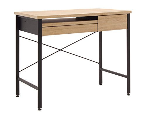 Calico Designs 51241 Compact Art Drawing/Computer Desk For Kids, Ashwood/Graphite