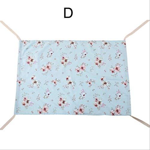 Tragbare 0-5 Jahre alte Hängematte aus Reiner Baumwolle Bequemes Bett Elastisches abnehmbares Schlafbett Schlafzimmer HängematteWie abgebildet