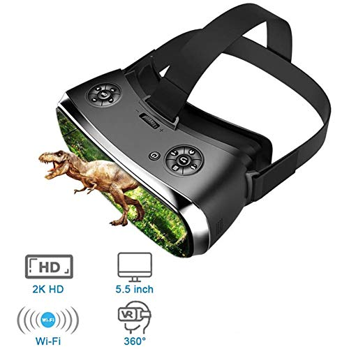 J.W. Standalone Virtual Reality Headset All-In-One VR Brille OLED 3D-Brille Virtual PC Brille Headsets,S900, 3G, 16 GB/PS 4 Xbox 360 / One 2 K HDMI Nibiru Android 5.1 Bildschirm 2560 * 1440