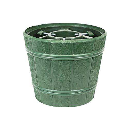Planet Kit Pot Porte Sapin de Noël Vert Diamètre 30 cm